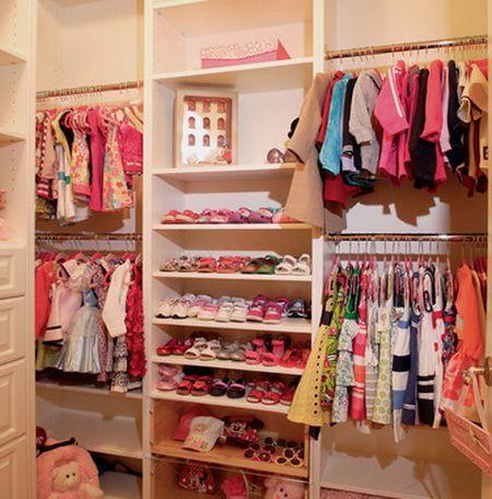 Girls Closet | Closet Idea Design | Pinterest | Girl Closet, Bedrooms And  Room