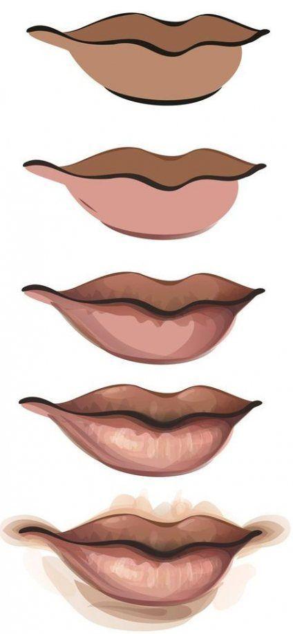 Photo of Super digital art tutorial lips ideas