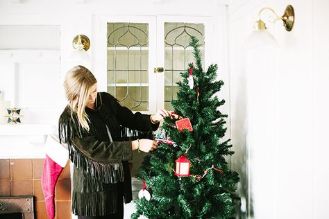 Oh Christmas Tree - How Lonny Editors Decorate Their Homes For The Holidays - Photos