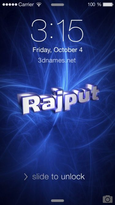 11 3d Images For Rajput Name Wallpaper My Name Wallpaper Name Logo