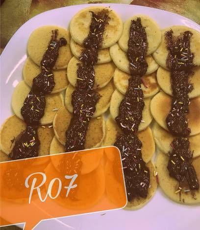 ميني بان كيك بدون بيض بالصور من Rama Rm Recipe Food Cooking Arabic Sweets