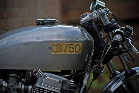 Honda CB750 cafe racer | Bike EXIF