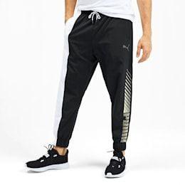 PUMA Pantalon tissé Collective Training pour Homme, Noir/Blanc ...