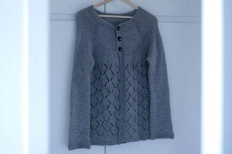 February Lady Sweater #knitting