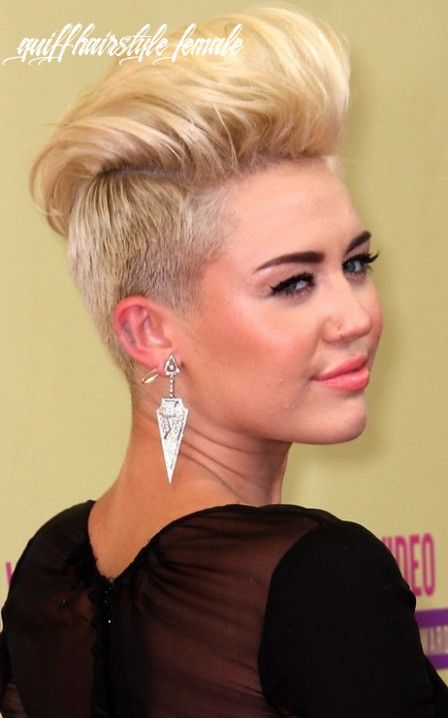 9 Quiff Hairstyle Female In 2020 Quiff Hairstyles Short Hair Styles Pompadour Hairstyle