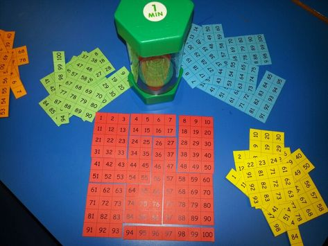 The 100 square challenge! Can you use your knowledge of numbers, patterns and place value to reassemble the 100 square? How about trying it against the timer? Can you even complete more than one square before the time runs out? Very popular in my class! LG☆