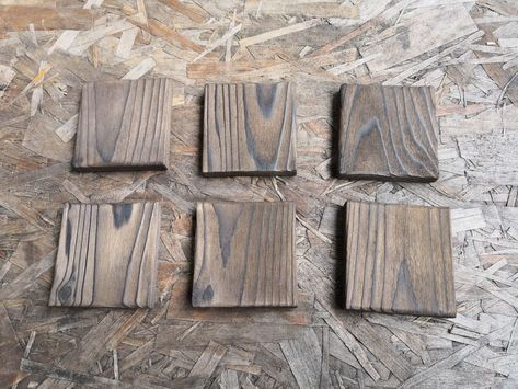 How to Make Simple DIY Pallet Coasters