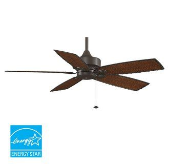 Riviera Roman Stone Ceiling Fan With 52 Series 353 Arbor Blades In Grape Style