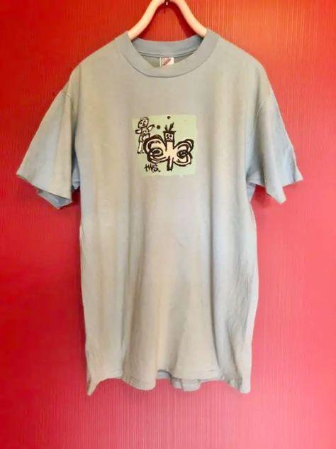 Vintage 1989 B.J Surf Mania Size XL Single Stitch Frog SURF Graphic T Shirt