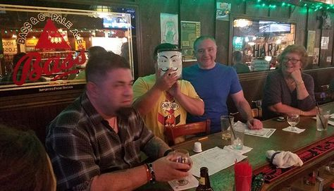 Congratulations to Team Butcher Cacciatore for winning our Featured Brewery Prize to Man Skirt Brewing at Poor Henry's Pub & Restaurant! . . #trivianight #triviawinners #TriviaRevolution #notyouraveragetrivia #revolutioniscoming #lettherevolutionbegin #jointherevolution #revolution #guyfawkes #craftbeer #craftbeerrevolution #craftbeernotcrap #craftbeerporn #craftbeernj #njcraftbeer #drinklocal #NJCB #NJCBmember #njbeer #njbrewery #triviatuesday
