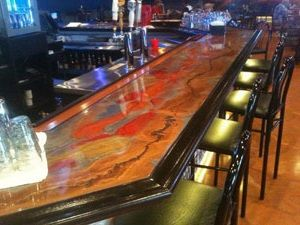 8 Best Bartop Epoxy Images On Pinterest Bar Tops Bar Ideas And