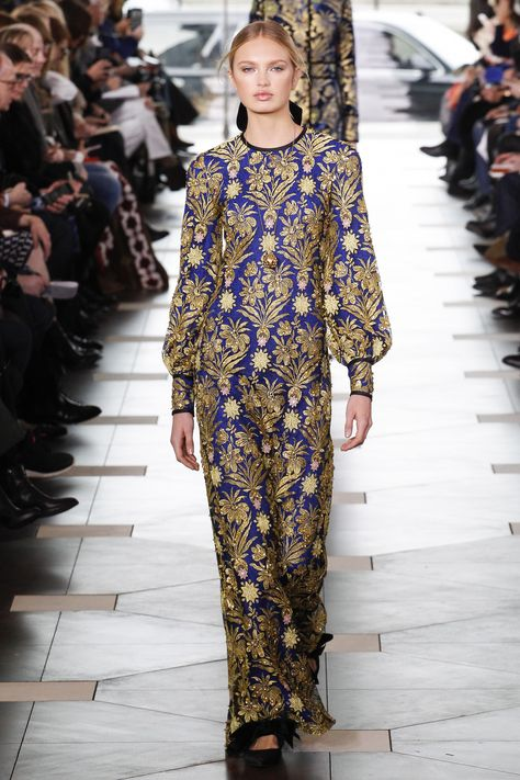 Tory Burch Fall 2017 Ready-to-Wear Fashion Show - Romee Strijd