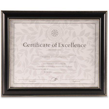 office solutions 2way certificate frame black - Diploma Frames Walmart