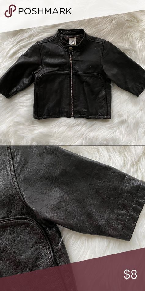 Babygap Leather Jacket With Images Leather Jacket Fashion Clothes Design
