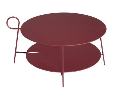 Coffee Table Carmina By Driade Red Made In Design Uk Table