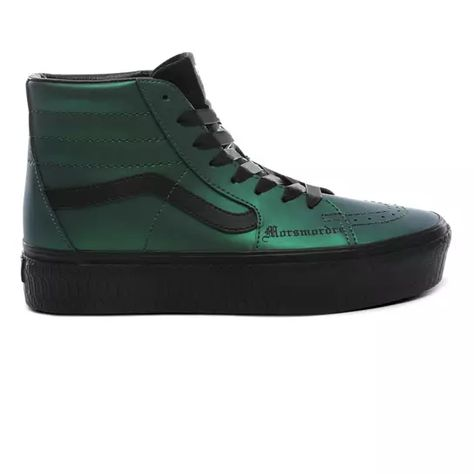 Vans x HARRY POTTER™ Dark Arts Sk8-Hi Platform Shoes | Green ...