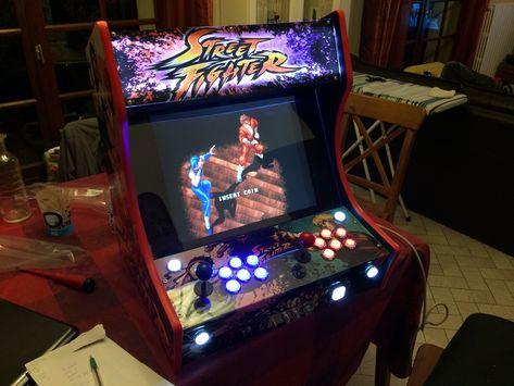 Bartop Arcade Street Fighter Bartop Arcade Arcade Table Basse