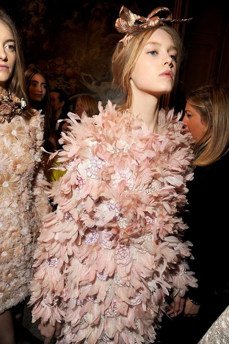 Backstage at Giambattista Valli // Spring 2013 Couture - Vogue