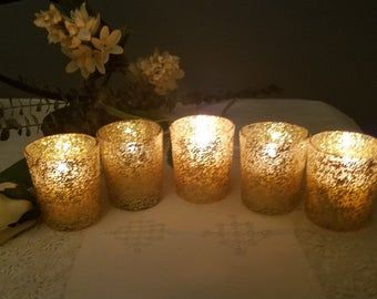 Wedding Table Decor Wedding Favor For Guest In Bulk Gold Etsy In 2020 Glitter Votive Candles Gold Glitter Candle Glitter Candles