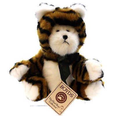 Boyds-Bears-Plush-ANTHONY-Fabric-Tiger-Master-Of-Disguise-918664