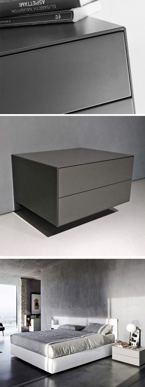 Livitalia Ecletto Nachttisch 2 Schubladen In 2019 Nachttisch