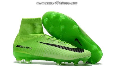 9cc8c1612a1 Nike Men s Mercurial Superfly V FG Football Boot Hi Top Soccer Cleats Hyper  Green  76.00