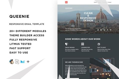 List Of Pinterest Email Design Responsive Behance Pictures