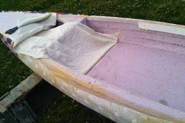 Poor Mans Fiberglass Permanent Exterior Paint Never Paint Again Almost Waterproofing With Out Epoxy Fiberglass Epoxy A Fiberglass Build A Camper Diy Boat
