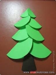 Image Result For How To Make A Big Christmas Tree Out Of Construction Paper Paper Crafts For Kids Christmas Crafts For Kids Crafts