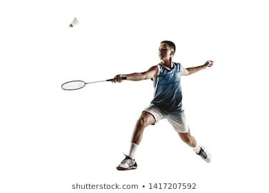 Little Boy Playing Badminton Isolated On White Studio Background Young Male Model In Sportwear And Sneakers W In 2020 Boys Playing Little Boys White Studio Background