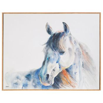 Watercolor Horse Canvas Wall Decor Canvas Wall Decor Watercolor