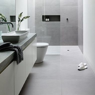 Large White Floor Tiles Square Mosaic Tiles At Cheap Price Large White Bathroom Tiles 380 X 380 White Bathroom Tiles White Bathroom White Tile Floor
