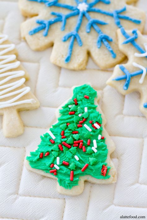 Soft-Baked Cutout Sugar Cookies | These are the BEST. Promise.