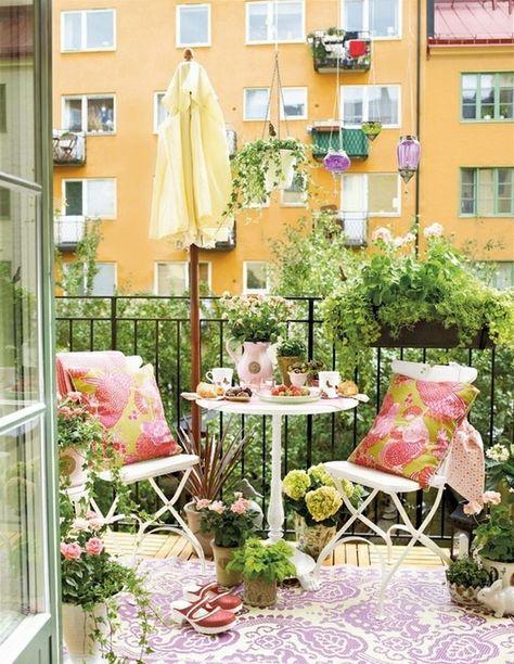 L Amenagement D Un Petit Balcon Idees Pour La Petite Place