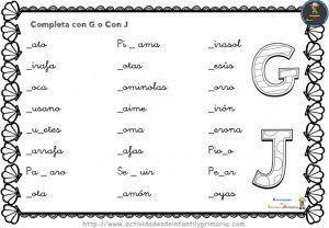 Ejercicios De Ortografía Para Primaria Listos Para Descargar E Imprimir Actividades De Ortografía Ortografía Matematicas Primero De Primaria