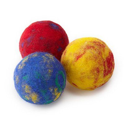 Felted Color Ball Making Kit. 2013 Faire