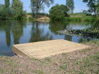 41 Fishing Platform Ideas Farm Pond Southeast London Ponds Backyard