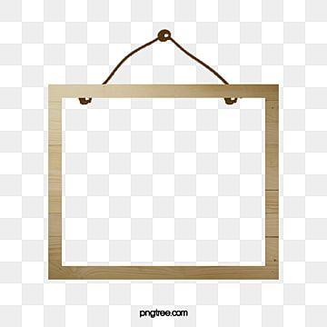 كارتون إطار الصورة براويز خشبية رسوم متحركة الإطار رسمت باليد الحدود Png وملف Psd للتحميل مجانا Frame Clipart Painted Picture Frames Cartoon Clip Art