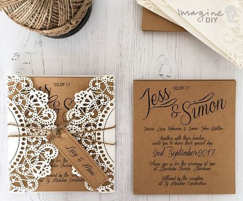 How To Make Your Own Diy Wedding Stationery