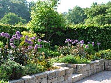Verschiedene Ebenen In 2020 Landscaping Retaining Walls Hanging Garden Front Landscaping