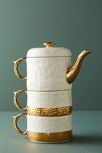 STACKED TEAPOTS KITCHEN LAMP | Teapot