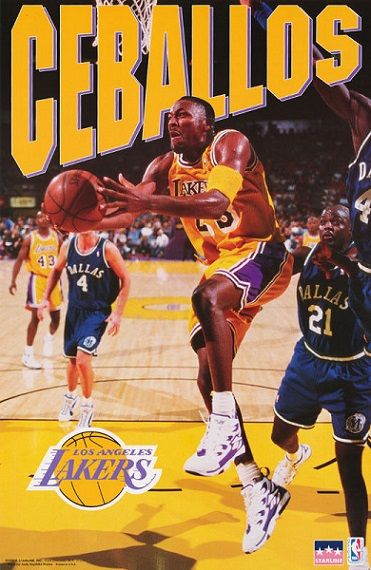 Cedric Ceballos Lakers Team Nba Players Los Angeles Lakers