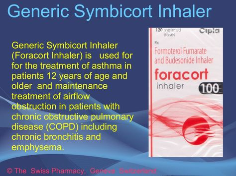 Generic Symbicort Inhaler for Treatment of Asthma \ COPD http - sample asthma action plan