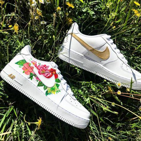 Tenis Nike Air Force 1 Feminino Floral | Ax Sports Store
