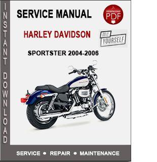 Harley Davidson Sportster 2004 2006 Service Manual Harley Davidson Sportster Sportster Harley Davidson