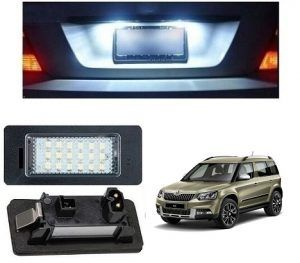 Skoda Yeti Car License Plate Light Skoda Yeti Car Accessories