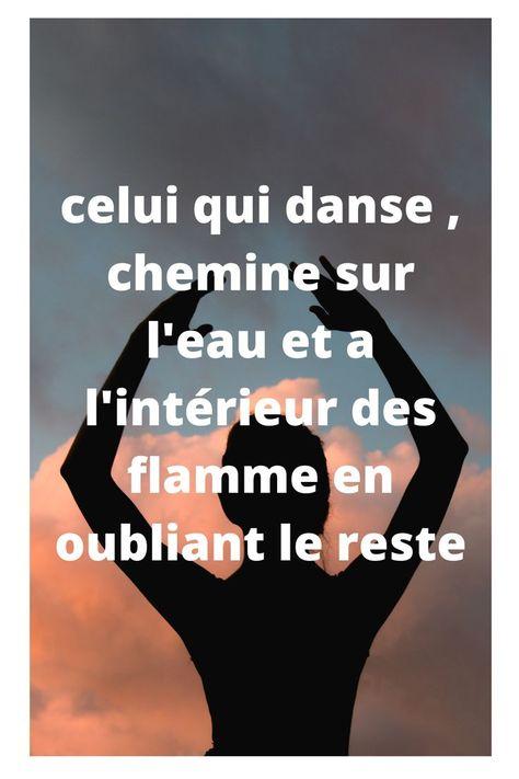 Danser nous procure une joie intense qu'on ne peut décrire