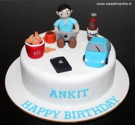 15 Amazing Birthday Cake Ideas For Men Cool Birthday Cakes Birthday Cake For Boyfriend 50th Birthday Cakes For Men