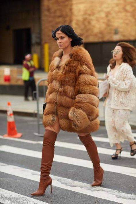 Fall Boots We're bringing you the latest street style looks from New York fashion week, all in one place. Check out the inspiring outfits inside.