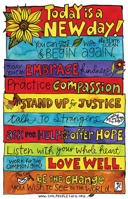 This is a great poster for encouraging kids to be their best!